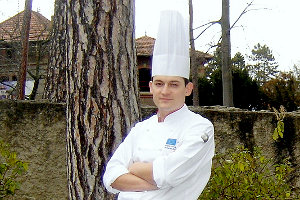 chef Dominik Brodziak (Platinum Palace)