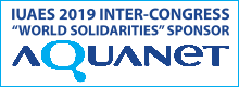 Aquanet IUAES2019 sponsor