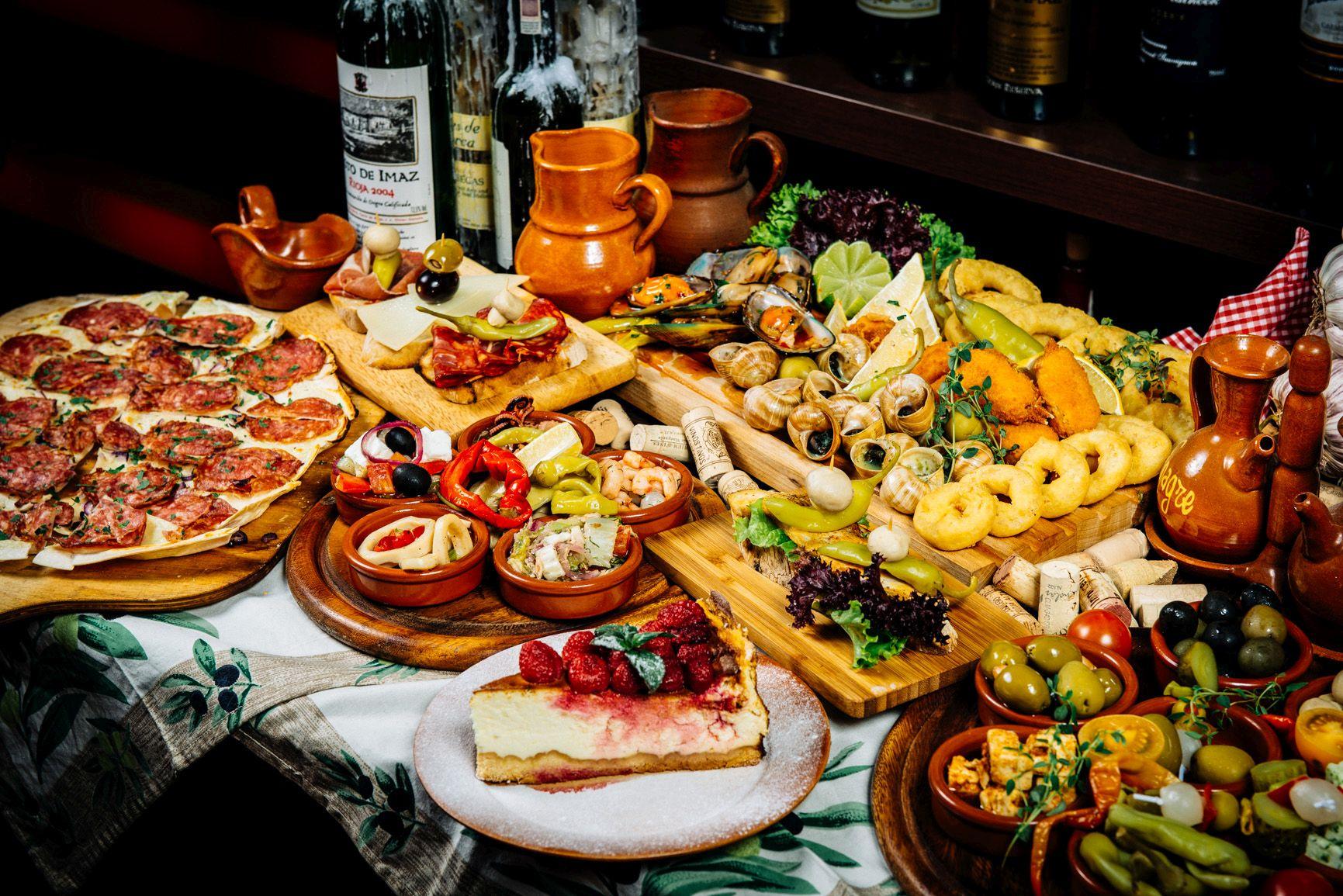 Traditional Buffet Food Ideas