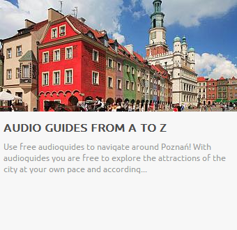 Audio guides in Poznań
