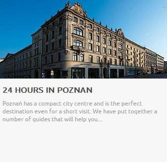 24 hours in Poznan