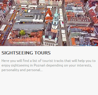 Sightseeing tours